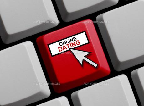 computer keyboard online datingの写真素材 [FYI00760532]