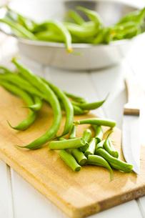 chopped green beansの写真素材 [FYI00760749]