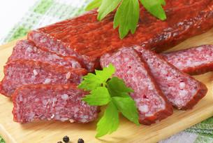 Hunter's salamiの写真素材 [FYI00760799]