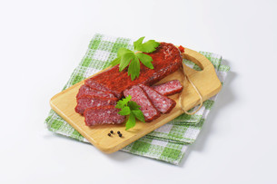 Hunter's salamiの写真素材 [FYI00760807]