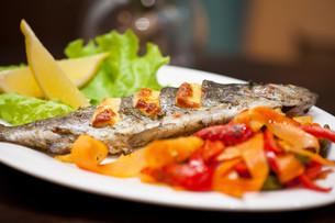rainbow trout fishの写真素材 [FYI00760925]