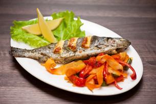 rainbow trout fishの写真素材 [FYI00760929]
