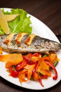rainbow trout fishの写真素材 [FYI00760936]