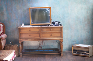 retro tvの写真素材 [FYI00761096]