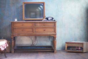 retro tvの写真素材 [FYI00761098]