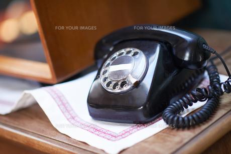 retro telephoneの写真素材 [FYI00761103]