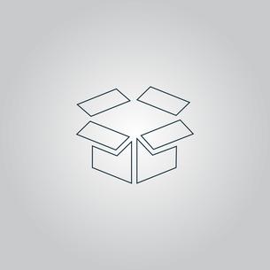 Open box iconの素材 [FYI00761145]