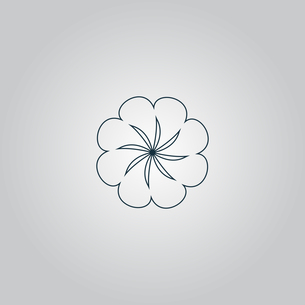 Swirl icon vectorの写真素材 [FYI00761149]