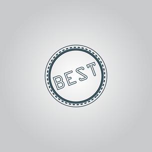 Best  Badge, Label or Stickerの写真素材 [FYI00761167]