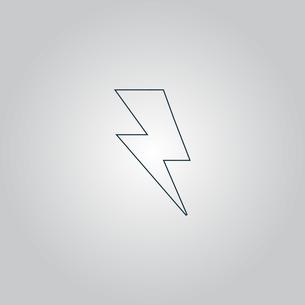 bolt  iconの写真素材 [FYI00761183]