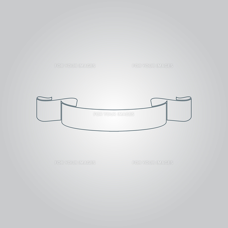 Simple ribbonの写真素材 [FYI00761184]