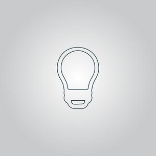 Led lamp, vector bulb, isolatedの写真素材 [FYI00761189]