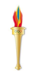 Olympic Torchの素材 [FYI00761249]