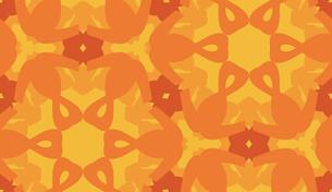 Hexagonal Pattern in Orangeの素材 [FYI00761360]