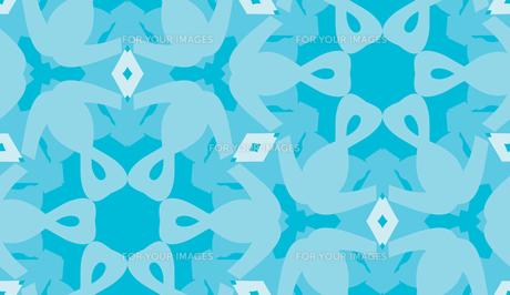 Blue Hexagonal Patternの素材 [FYI00761361]