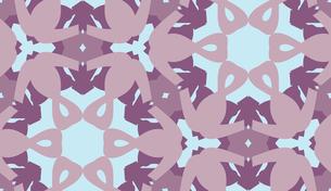 Purple and Blue Hexagonal Patternの素材 [FYI00761365]