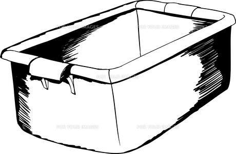 Outline of Empty Crateの写真素材 [FYI00761378]