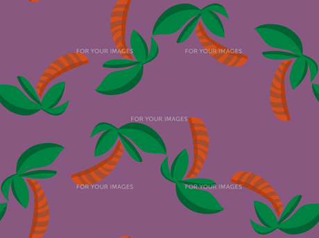 Repeating Palm Tree Shapes Wallpaperの素材 [FYI00761388]