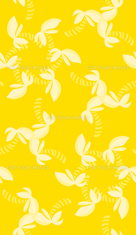 Pinwheel Pattern Over Yellowの写真素材 [FYI00761410]