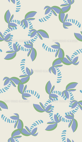 Blue and Green Shapes in Seamless Patternの写真素材 [FYI00761416]