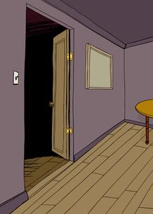 Empty Room with Tableの写真素材 [FYI00761424]