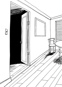 Room Outline with Furnitureの素材 [FYI00761435]