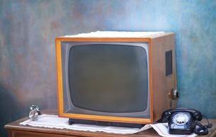 retro tvの写真素材 [FYI00761494]