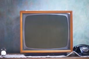 retro tvの写真素材 [FYI00761514]