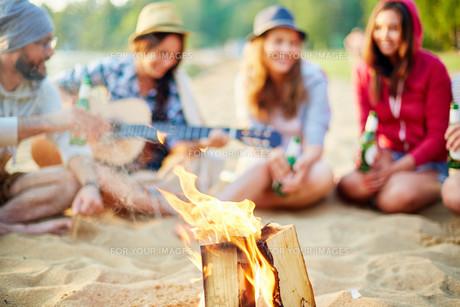 Tourist fireの素材 [FYI00762425]