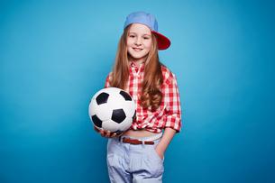 Soccer girlの写真素材 [FYI00762823]