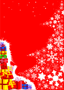 Christmas Tree Presentsの写真素材 [FYI00763174]