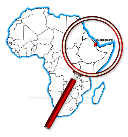 Djibouti Under A Magnifying Glassの素材 [FYI00763178]