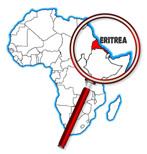 Eritrea Under A Magnifying Glassの素材 [FYI00763190]