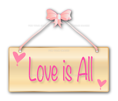 Love Is Allの素材 [FYI00763193]