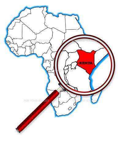 Kenya Under A Magnifying Glassの素材 [FYI00763194]