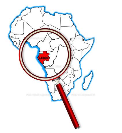 Gabon Under A Magnifying Glassの素材 [FYI00763197]