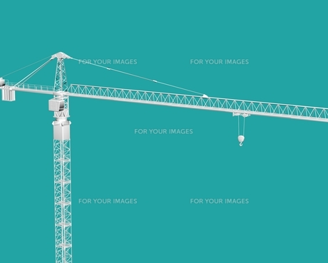 construction craneの素材 [FYI00763573]