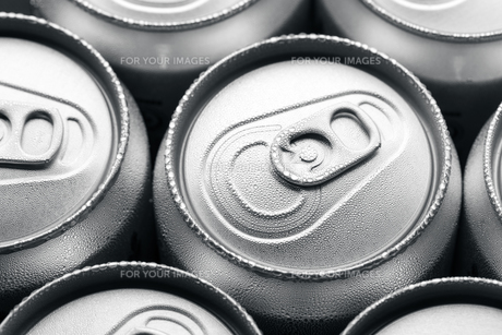 Cold canned drinksの写真素材 [FYI00763673]