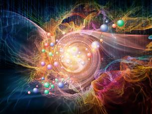 Glow of Particlesの写真素材 [FYI00764044]