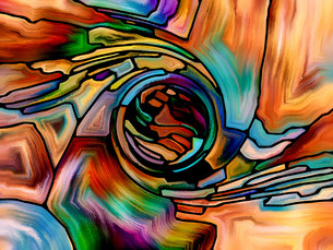 Digital Colorの写真素材 [FYI00764075]