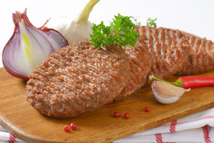 Beef Burger Pattiesの素材 [FYI00764292]