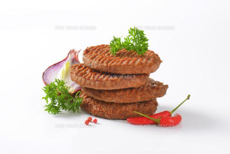 Beef Burger Pattiesの素材 [FYI00764297]