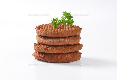 Beef Burger Pattiesの素材 [FYI00764300]