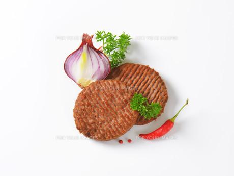 Beef Burger Pattiesの素材 [FYI00764301]