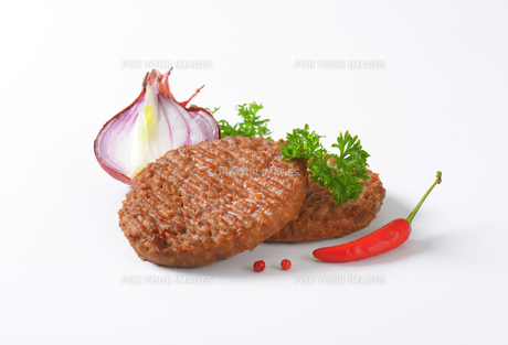 Beef Burger Pattiesの素材 [FYI00764302]