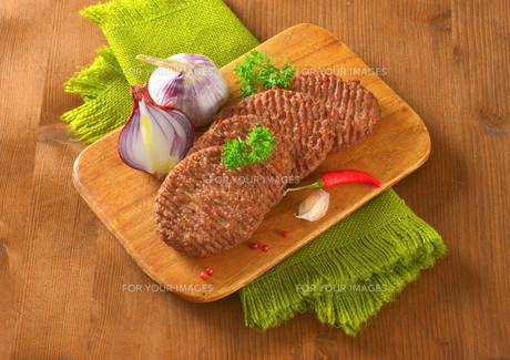 Beef Burger Pattiesの素材 [FYI00764304]