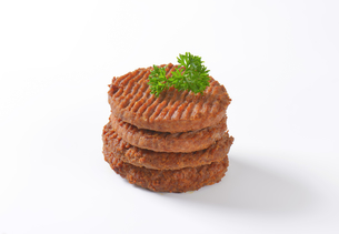 Beef Burger Pattiesの素材 [FYI00764305]