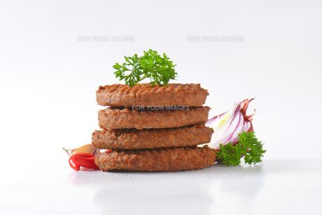 Beef Burger Pattiesの素材 [FYI00764307]