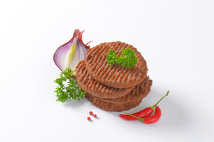 Beef Burger Pattiesの素材 [FYI00764310]