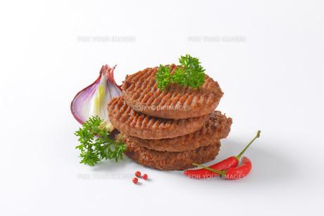 Beef Burger Pattiesの素材 [FYI00764312]